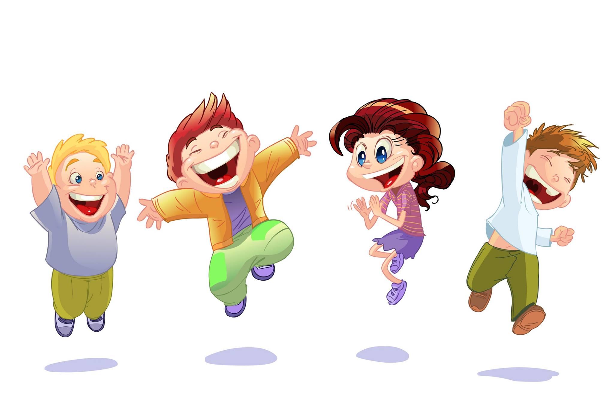Картинка детей веселых