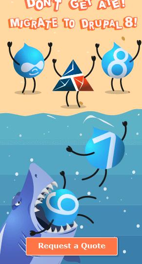 Креативная реклама миграции на Drupal 8