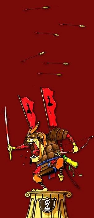 Огалтелый воин