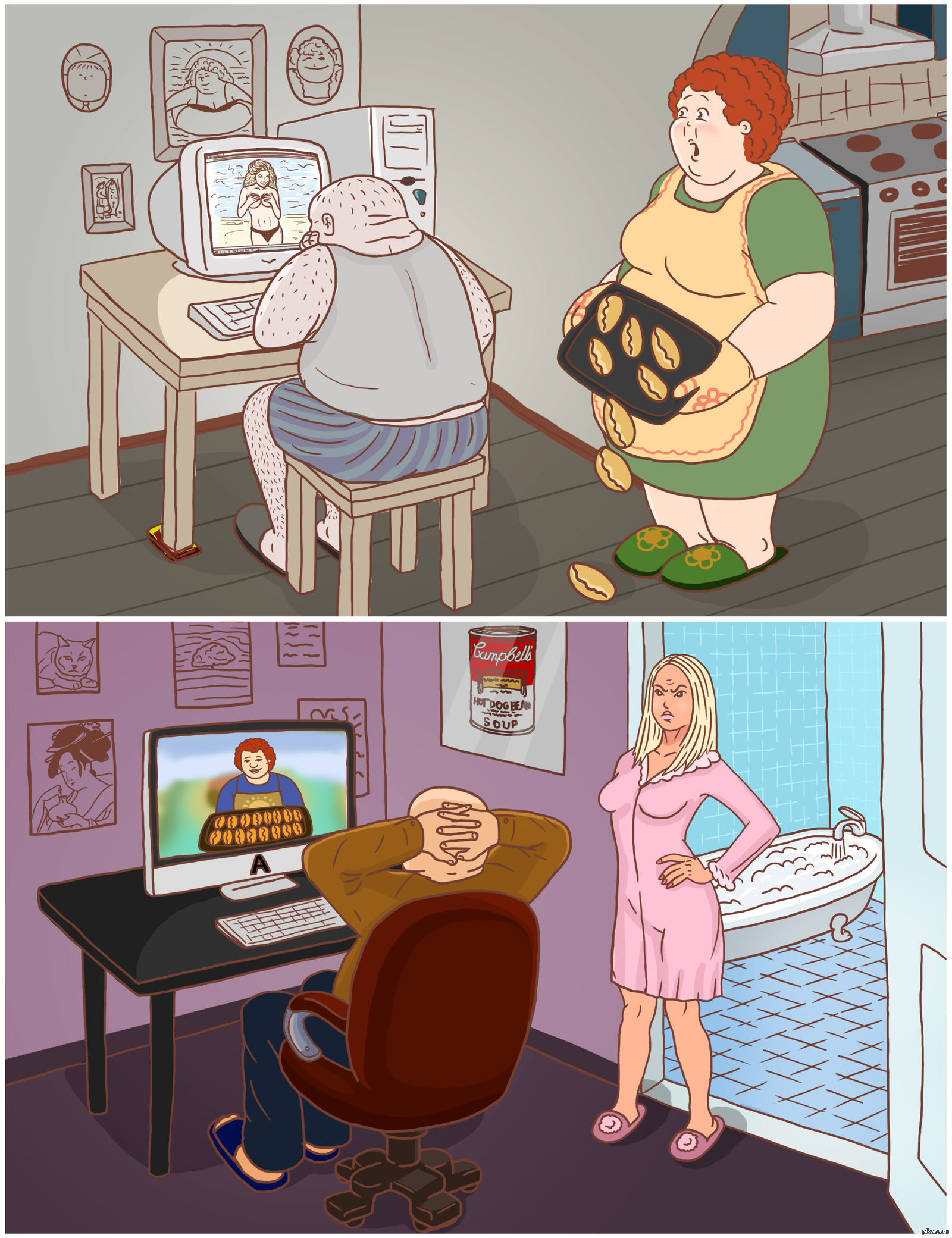 Толстая или худая жена