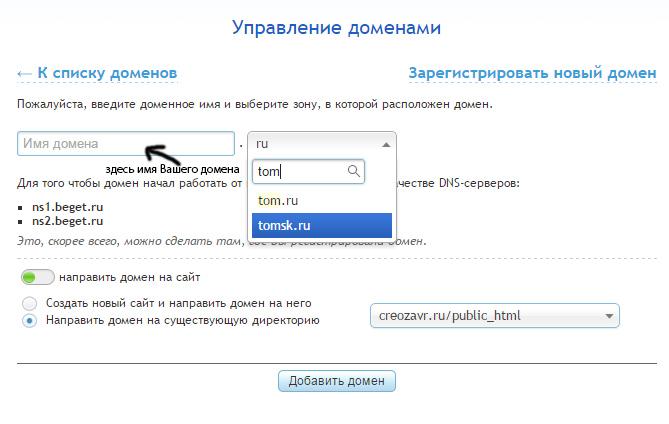 проверить дату регистрации домены