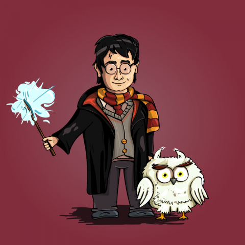 Harry Potter. Fan Art